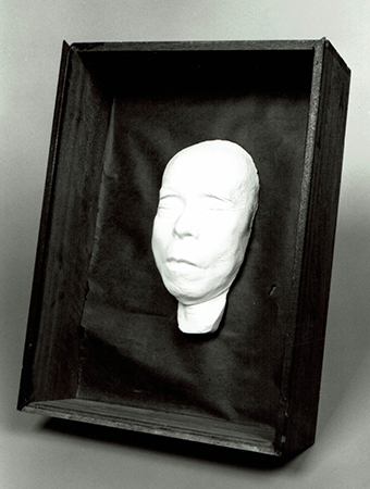 栄のデスマスク